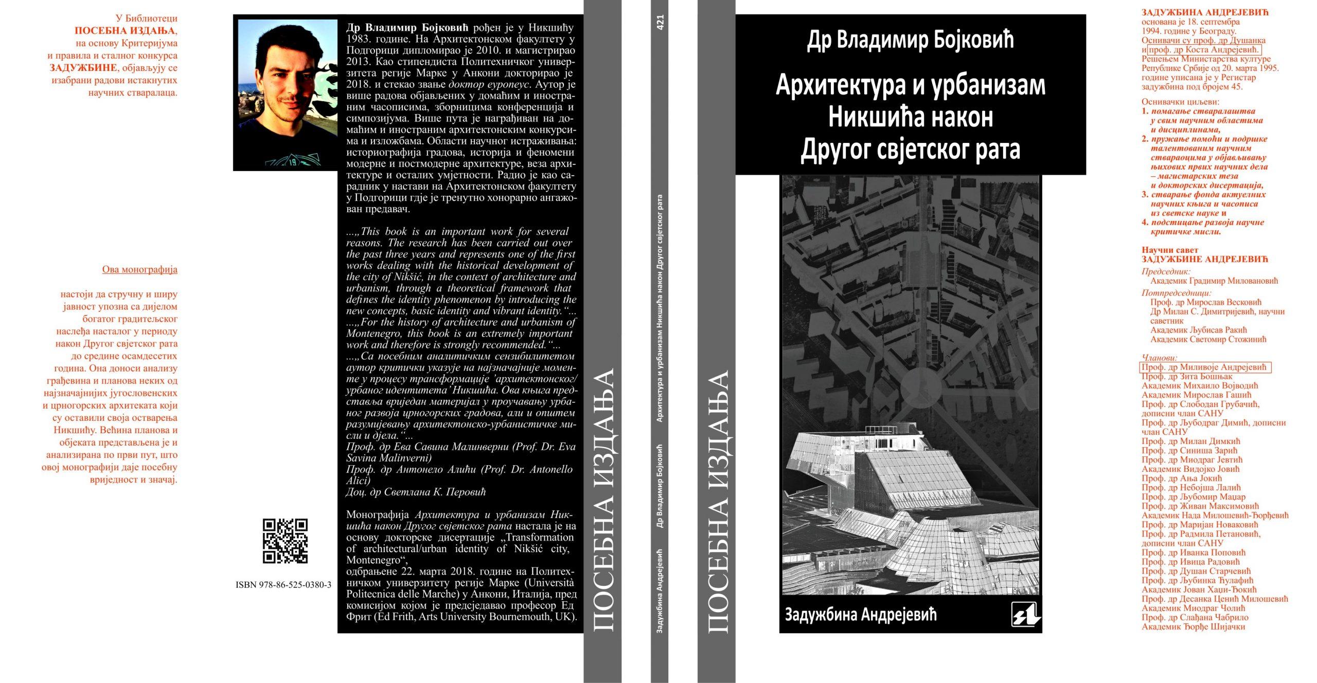 Arhitektura i urbanizam Nikšića nakon Drugog svjetskog rata