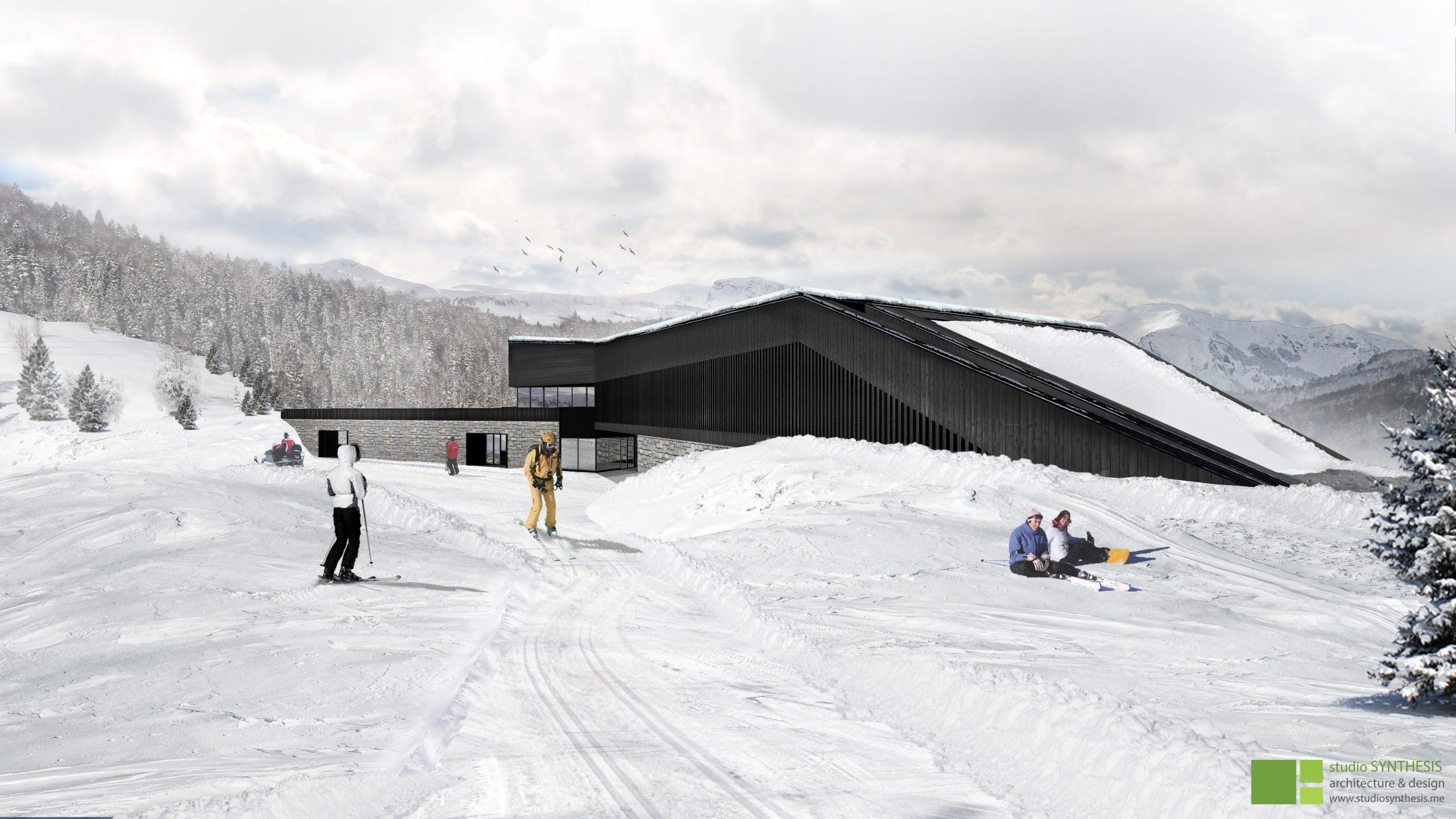 Uslužno-servisni objekat Ski centra Cmiljača