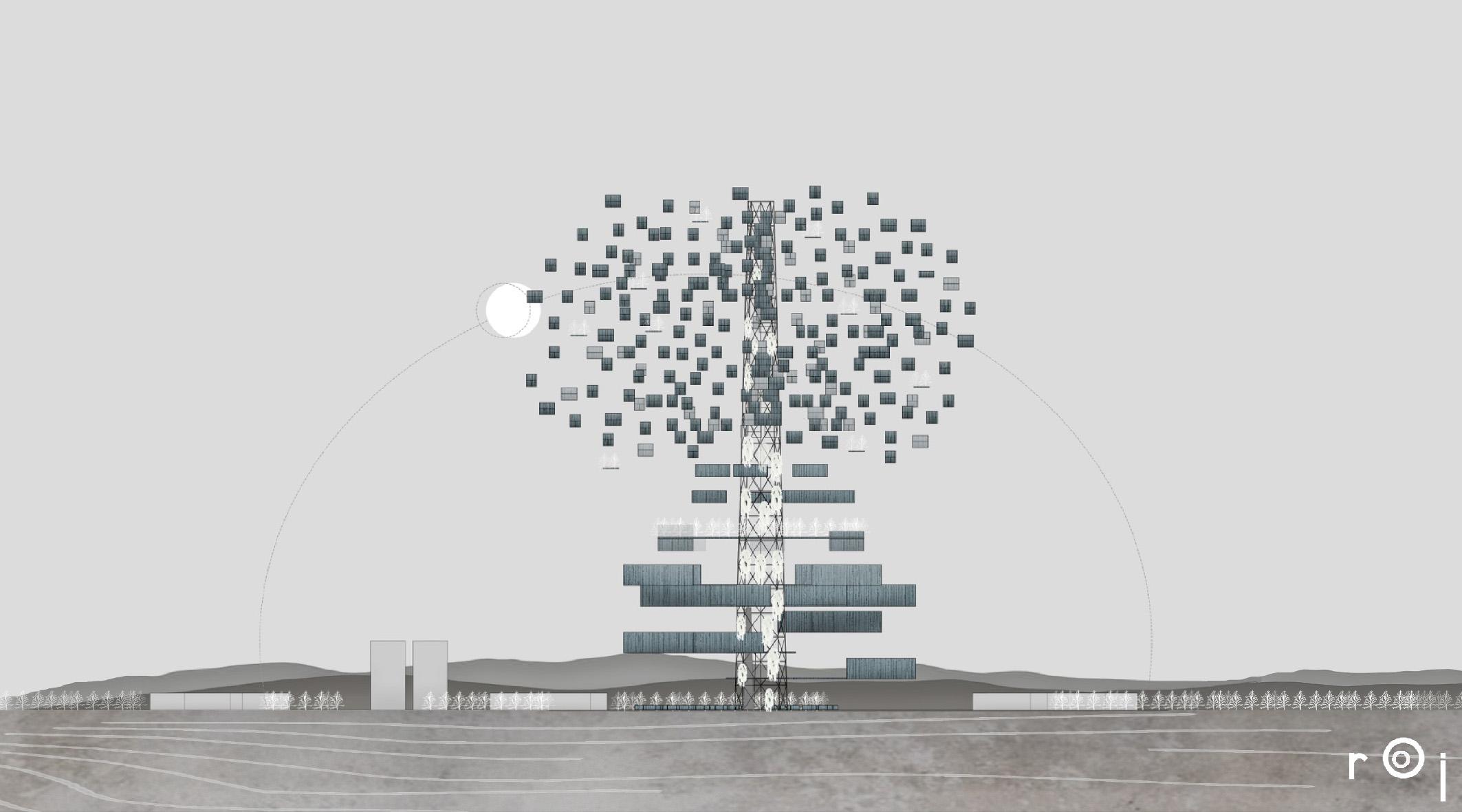 Urbanističko projektovanje – Vertikalni grad u Beranama